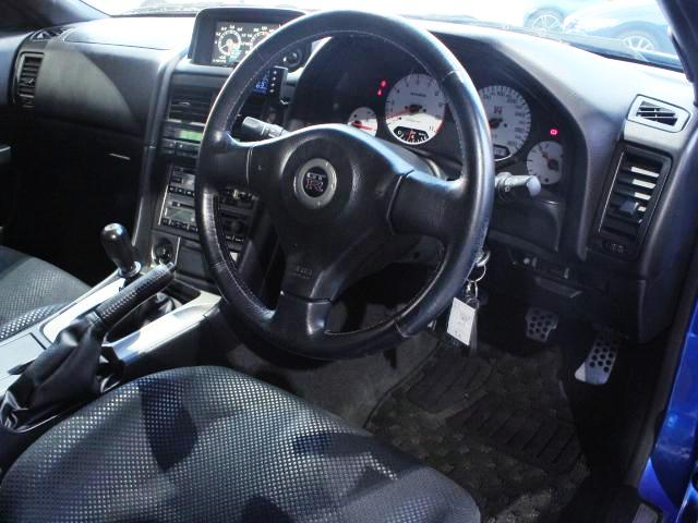 INTERIOR OF R34 GT-R.