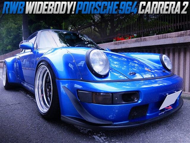 RWB WIDEBODY INSTALLED PORSCHE 964 CARRERA 2.
