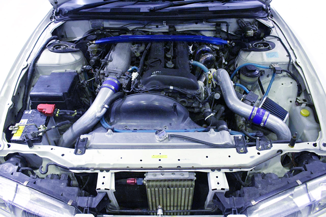 SR20DET BLACKTOP ENGINE with GT-RS TURBO.