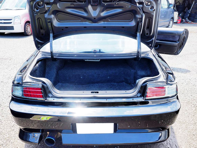 TRUNK ROOM OF S14 SILVIA.
