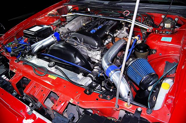 SR20DET BLACKTOP TURBO ENGINE OF S15 SILVIA SPEC-R MOTOR.