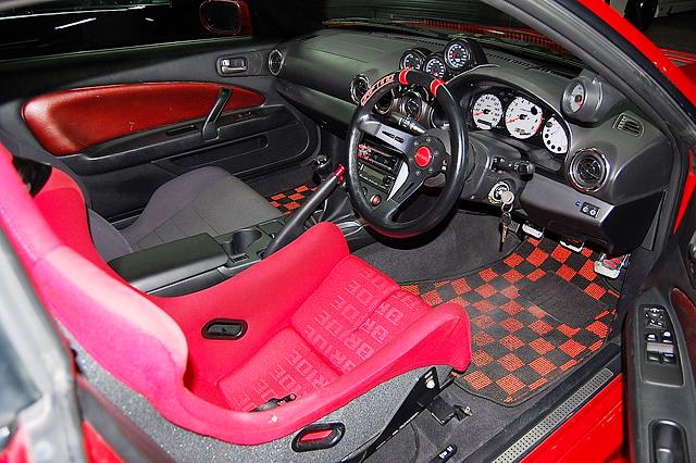 DRIVER'S INTERIOR OF S15 SILVIA SPEC-R.
