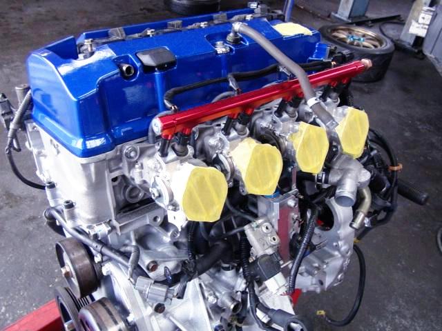 REBUILT F20C VTEC ENGINE.