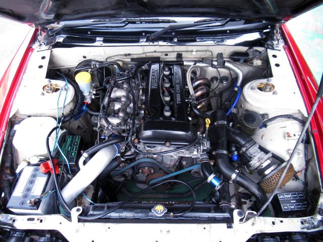 SR20DET BLACKTOP ENGINE.