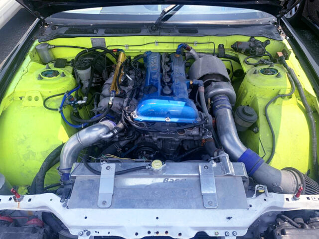 SR20DET with 2.1L STROKER and IHI RX6 TURBO.