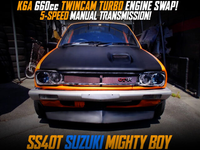 K6A TURBO ENGINE and 5MT SWAPPED MIGHTY BOY.