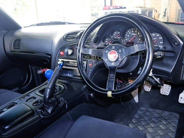INTERIOR OF FD3S MAZDA RX-7 TYPE-RS.