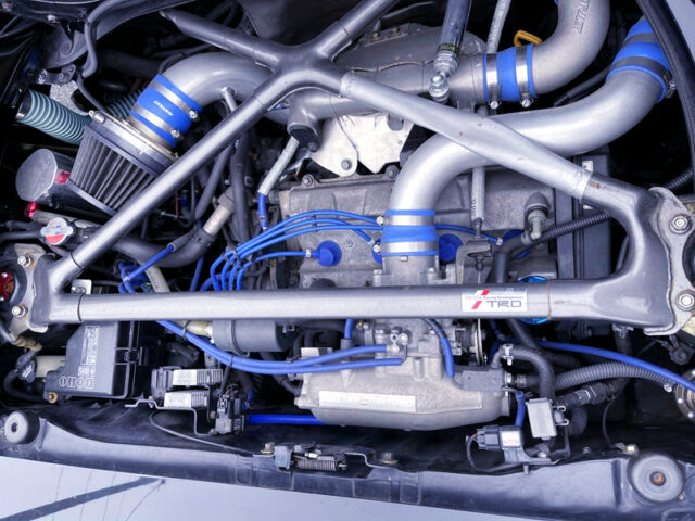 3S-GTE TURBO ENGINE With GREDDY TURBINE.