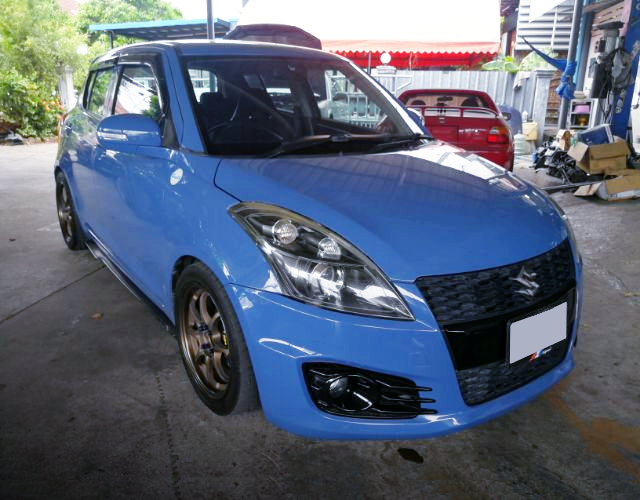 FRONT EXTERIOR OF 3rd Gen SWIFT K24A TURBO.