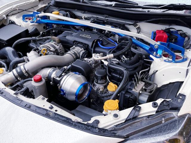 HKS SUPERCHARGED FA20 BOXER ENGINE.
