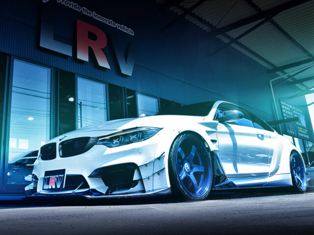 FRONT EXTERIOR OF F82 BMW M4 COUPE.