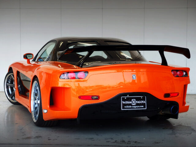 REAR EXTERIOR OF VeilSide FORTUNE RX7.
