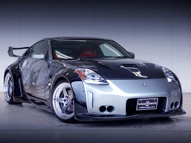 FRONT EXTERIOR OF Z33 FAIRLADY Z 35th ANNIVERSARY.