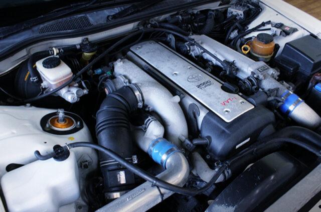 VVT-i 1JZ-GTE TURBO ENGINE with HKS GT2835PRO TURBINE.