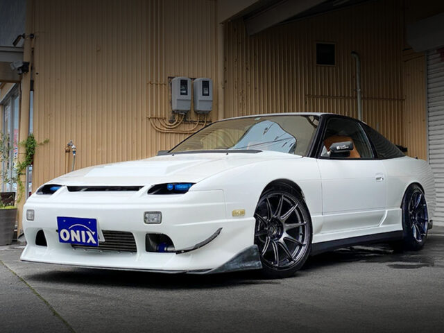 FRONT EXTERIOR OF 180SX TYPE-R.