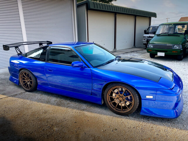 FRONT SIDE EXTERIOR OF RPS13 NISSAN 180SX.