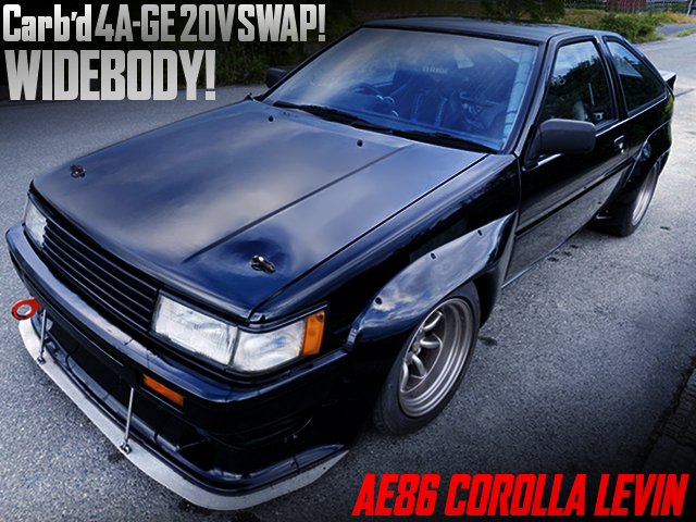 CARBS on 4AGE SWAPPED AE86 LEVIN WIDEBODY.