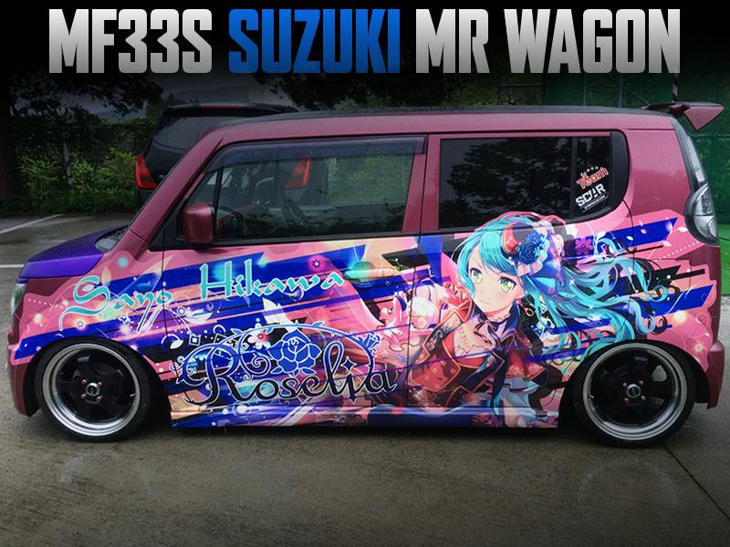 BanG Dream Roselia ITASHA MODIFIED SUZUKI MF33S MR WAGON.