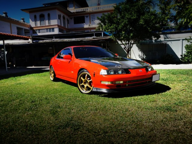 FRONT EXTERIOR OF 4th Gen PRELUDE.