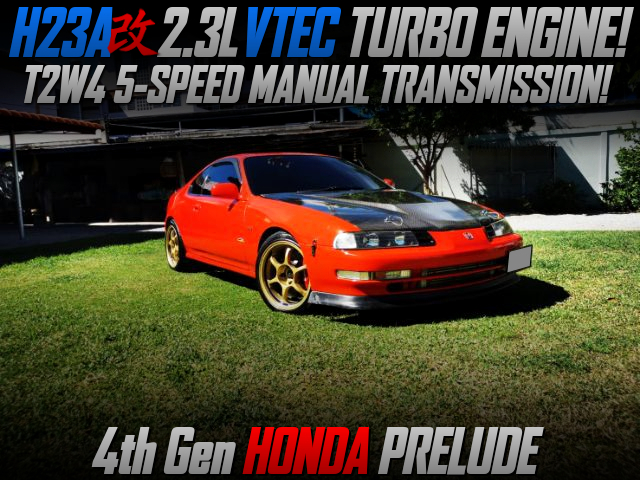 TURBOCHARGED H23A VTEC SWAPPED 4th Gen PRELUDE.