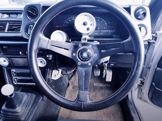 DRIVER'S NARDI STEERING and SPEED CLUSTER.