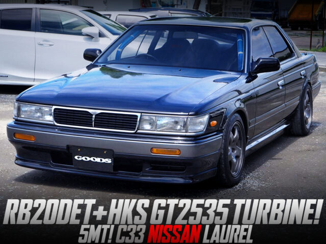 RB20DET with GT2535 TURBO MODIFIED OF C33 LAUREL.
