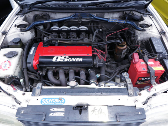 20V 4AGE 1600cc ENGINE with ITBs.