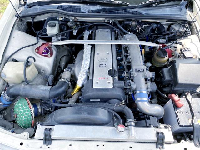 VVTi 1JZ-GTE ENGINE with BLITZ TURBO.
