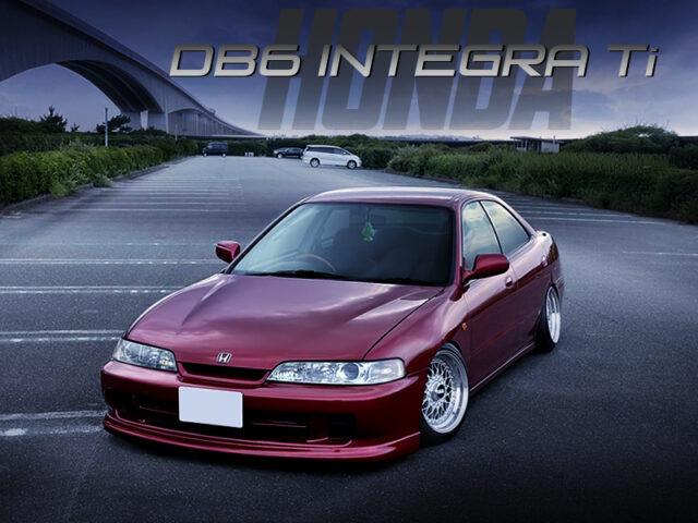 STANCED DB6 INTEGRA 4-DOOR Ti.
