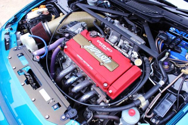 TYPE-R B18C VTEC ENGINE.