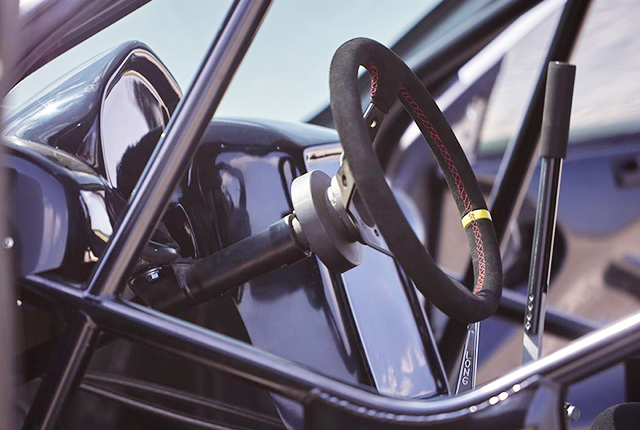 ROLL CAGE and STEERING.