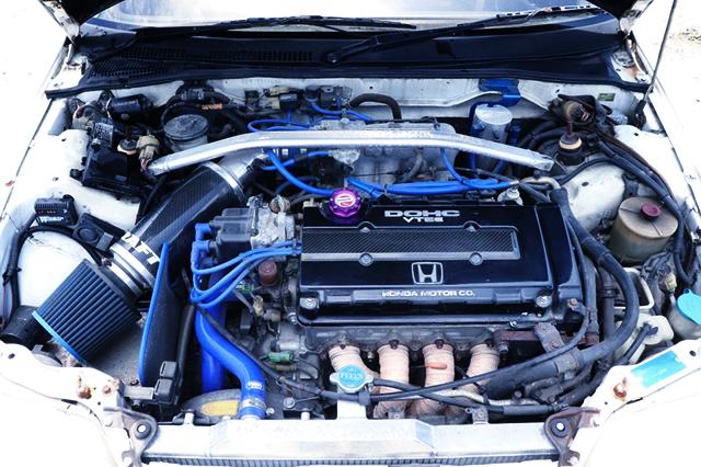 B16A VTEC ENGINE OF EF9 CIVIC MOTOR.