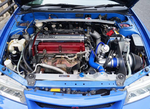 4G63 With TOMEI 2.2L and HKS GT2 TURBOCHARGER.