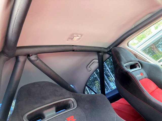 ROLL CAGE INSTALLED FD2 CIVIC TYPE-R.