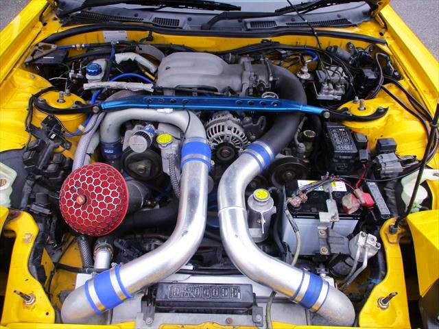 13B-REW ENGINE with TO4S SINGLE TURBO.
