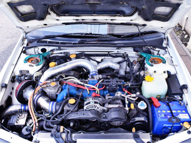 EJ20 with TOMEI 2.2L and GT2835 TURBO.