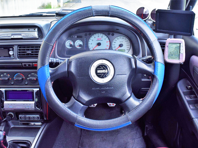 STEERING AND SPEED CLUSTER.