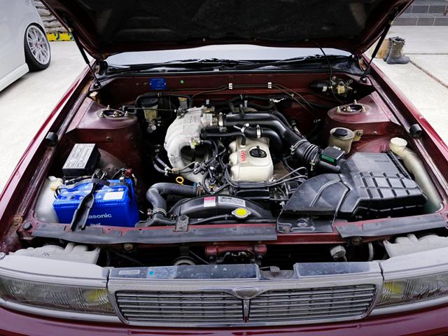 RB20E 2000cc SOHC NATURALLY ASPIRATED ENGINE.
