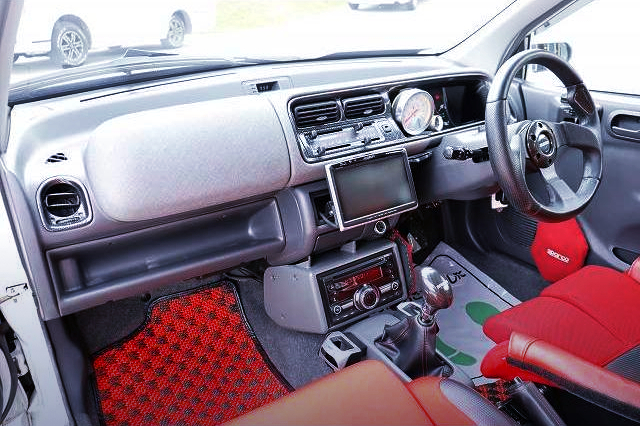 INTERIOR OF JA4 TODAY Rs.