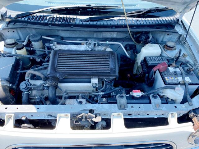 JB 660c TURBOCHARGED INLINE-FOUR ENGINE.