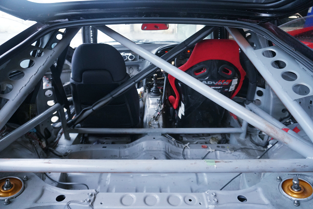 ROLL CAGE AND TWO-SEATER.