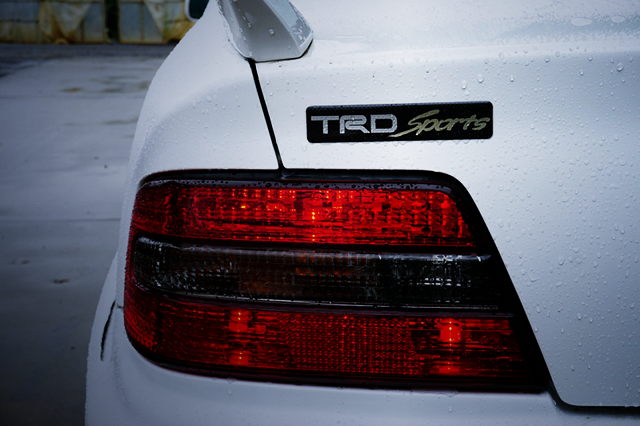 TRD SPORTS EMBLEM of JZX100 CHASER.
