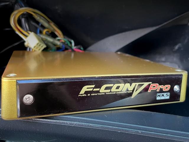 HKS F-CON V-PRO GOLD ECU.