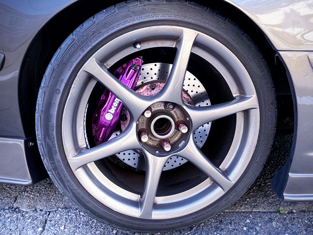 Brembo FRONT CALIPERS.