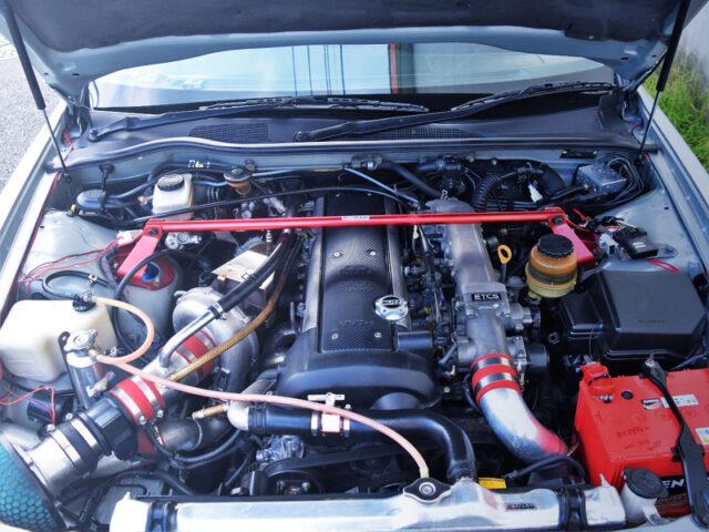 VVTi 1JZ-GTE with IHI RX6 SINGLE TURBO.