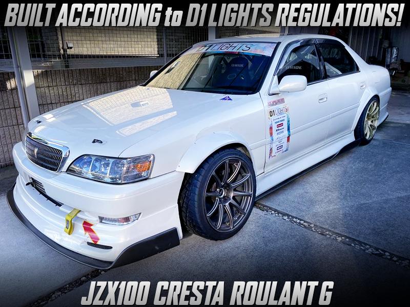 D1 LIGHTS REGULATION BUILT OF JZX100 CRESTA ROULANT G.
