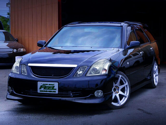 FRONT EXTERIOR OF JZX110 MARK 2 BLIT iR-V.