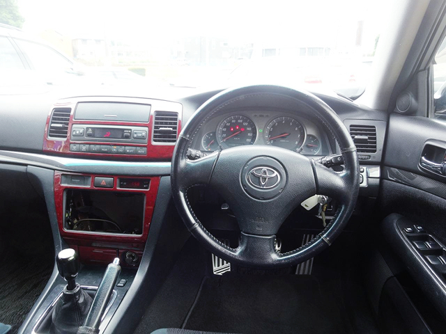 DRIVER'S DASHBOARD OF JZX110W MARK 2 BLIT.