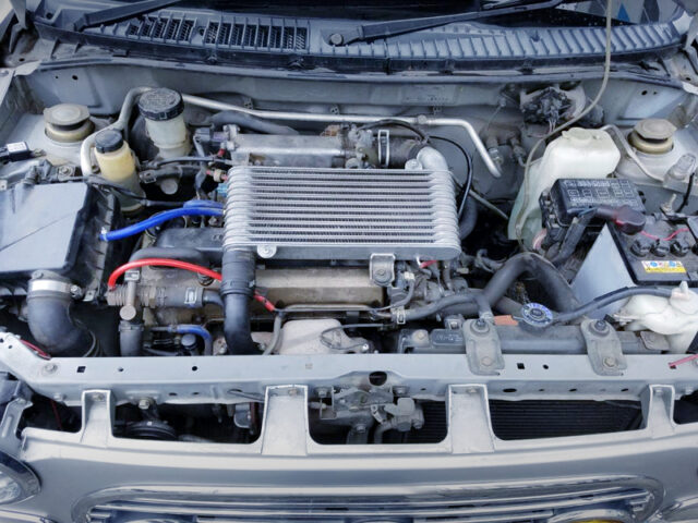 JB 660cc TURBO ENGINE.