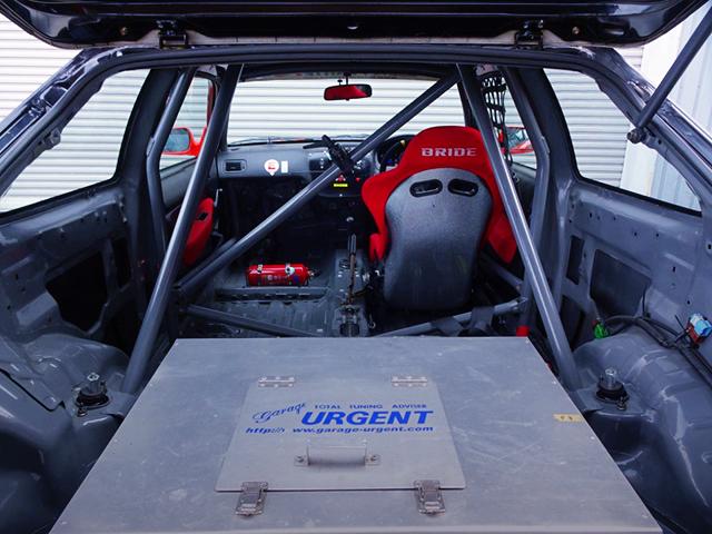SINGLE SEATER OF EK9 CIVIC TYPE-R N1 RACE CAR.
